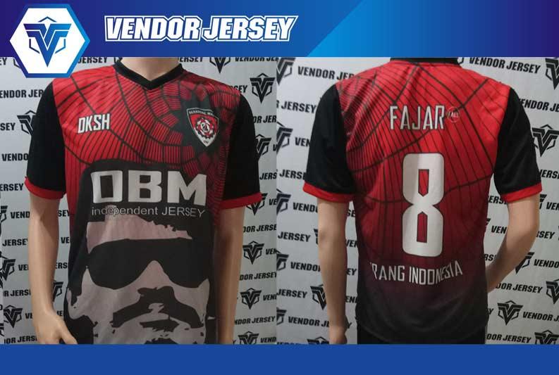 jasa Buat Seragam Kaos Futsal Motif Unik Dan Contoh Desainnya