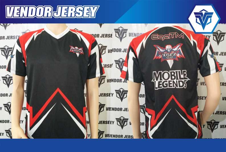 jasa Pembuatan Jersey Kaos Game Mobile Legends