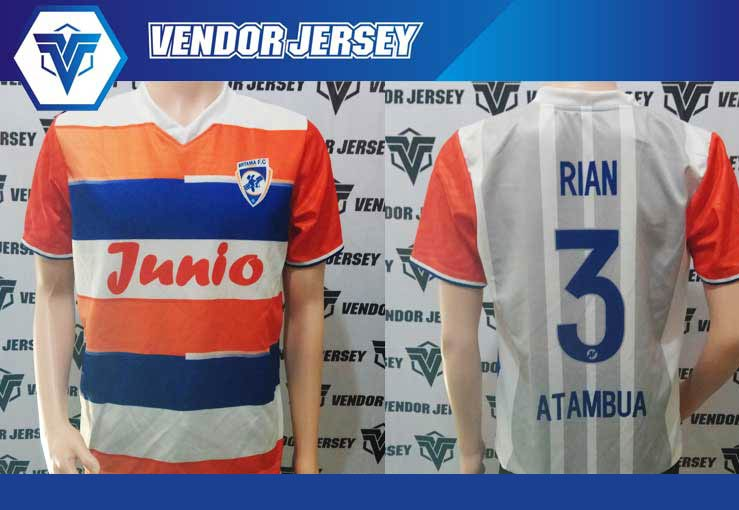 produksi Bikin Jersey Futsal Bank BRI Atambua Printing