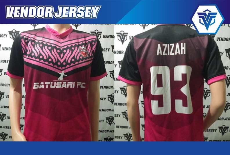 pembuatan Jersey Futsal printing Batik