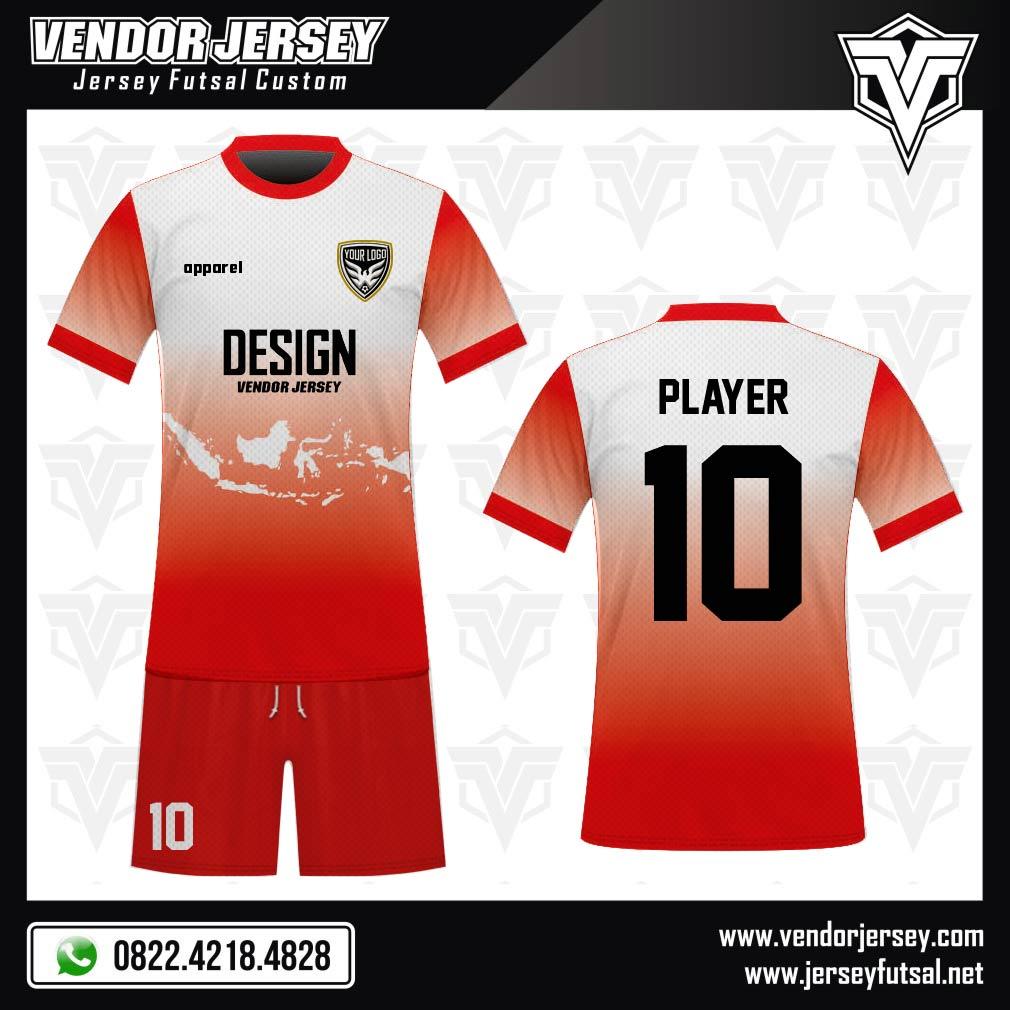 Desain Jersey Sepakbola Code Nesia Gambar Peta Indonesia