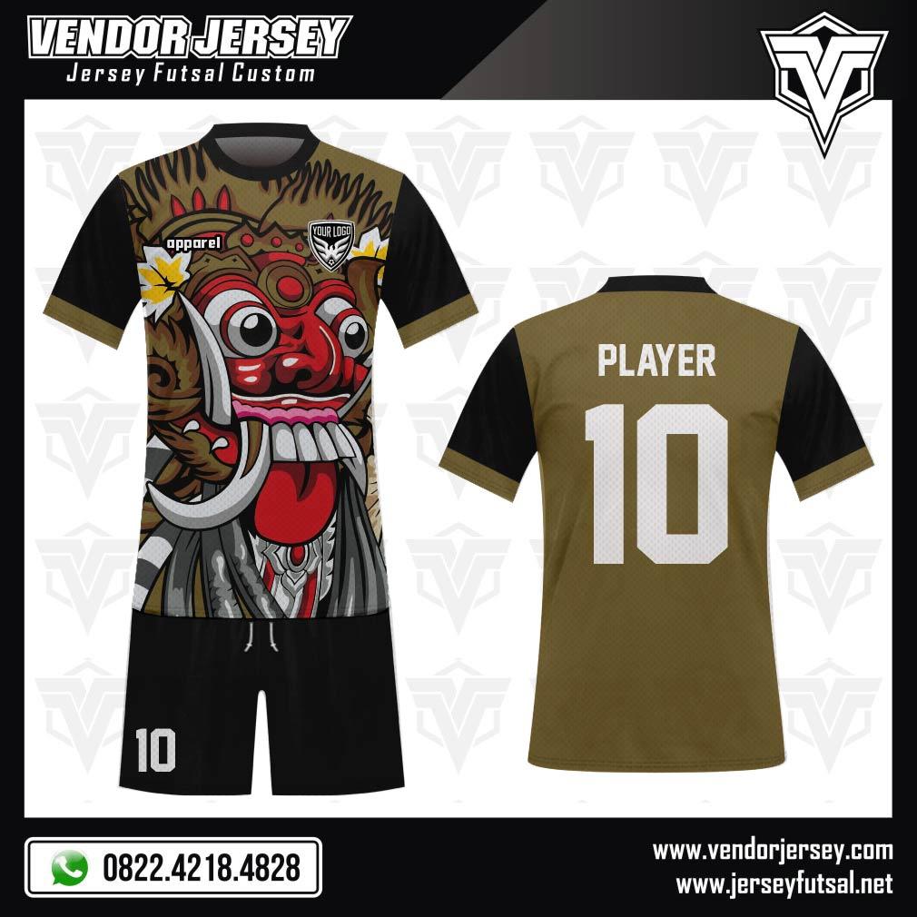 Desain Kaos Futsal Gambar Barong