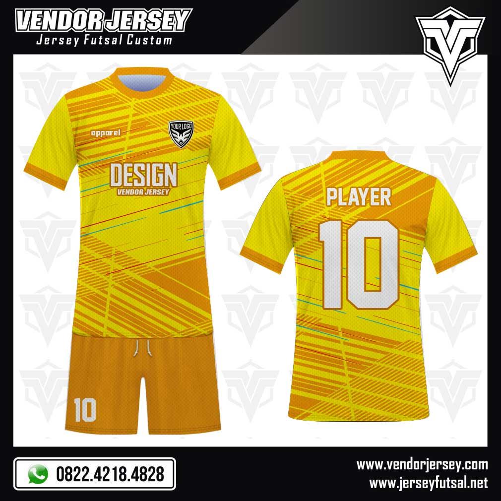 Desain Jersey Bola Futsal Code Yellonex Kuning Yang Keren