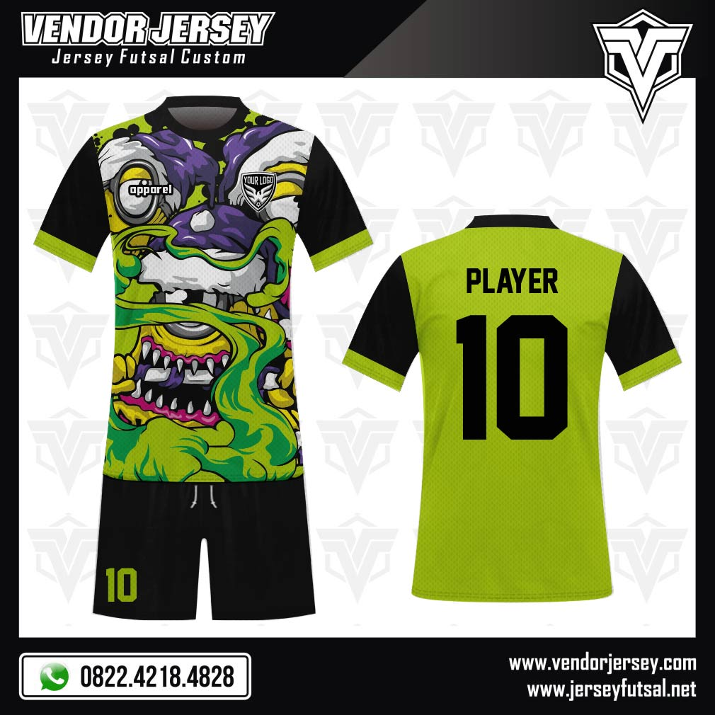 Desain kostum sepakbola code Zombie