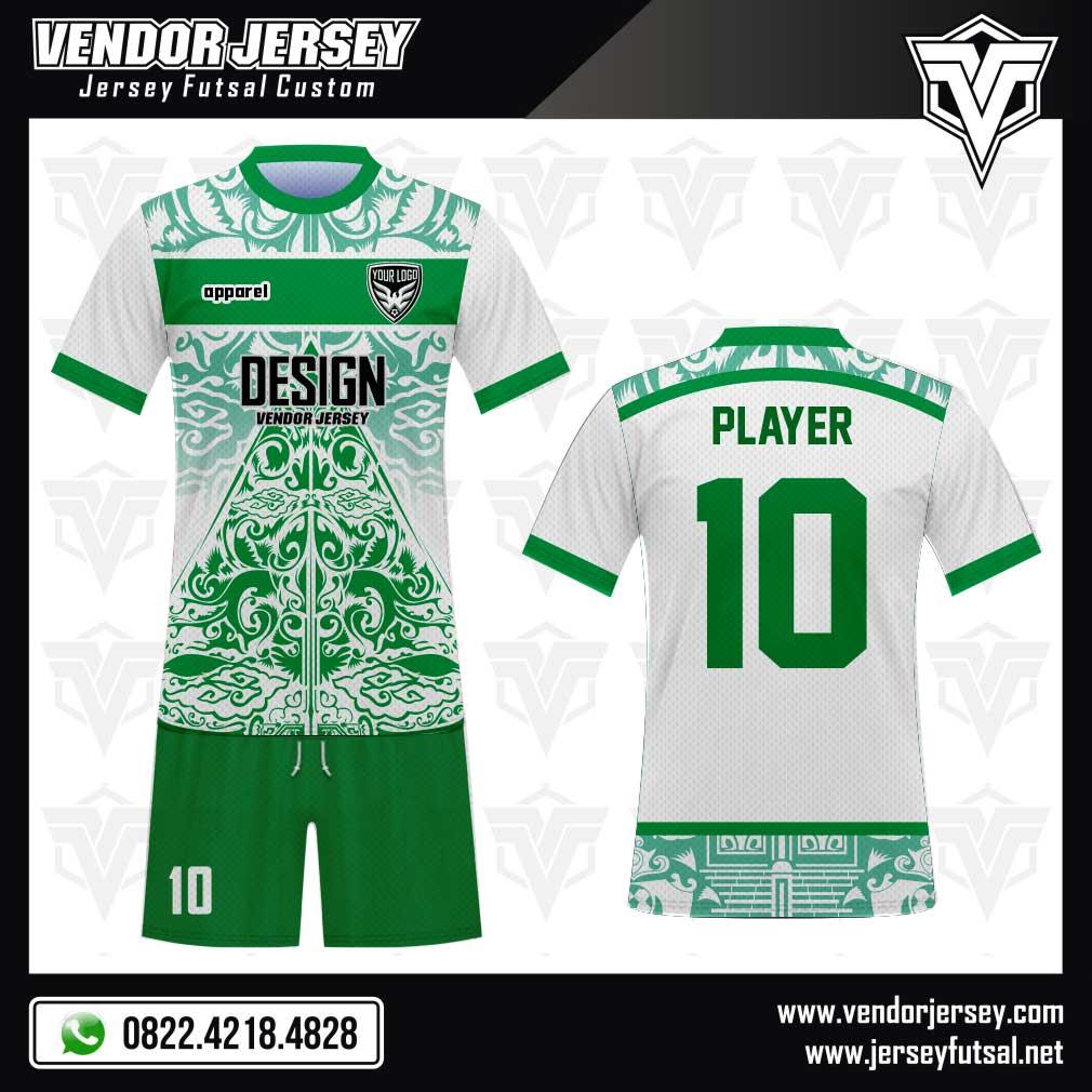 Desain Kaos Futsal Code Mogtagna Motif Batik Menarik 2