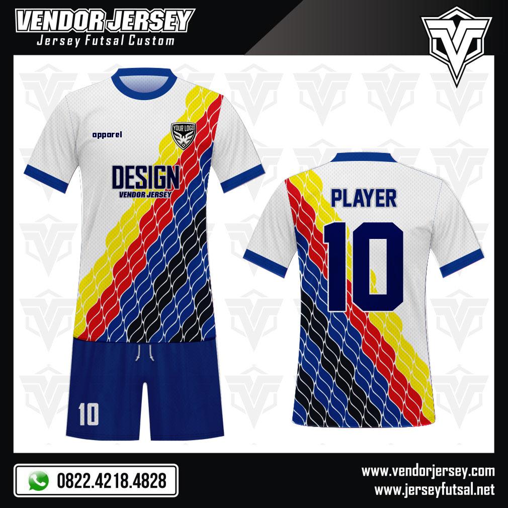 Desain Kaos Sepakbola Code Wavee yang Trendy dan Stylish