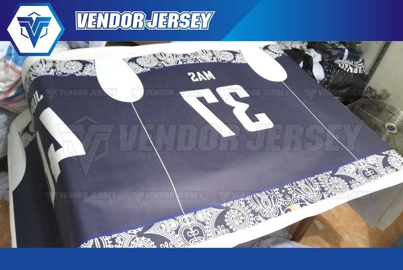 bikin Jersey Bola Futsal keren dan murah printing