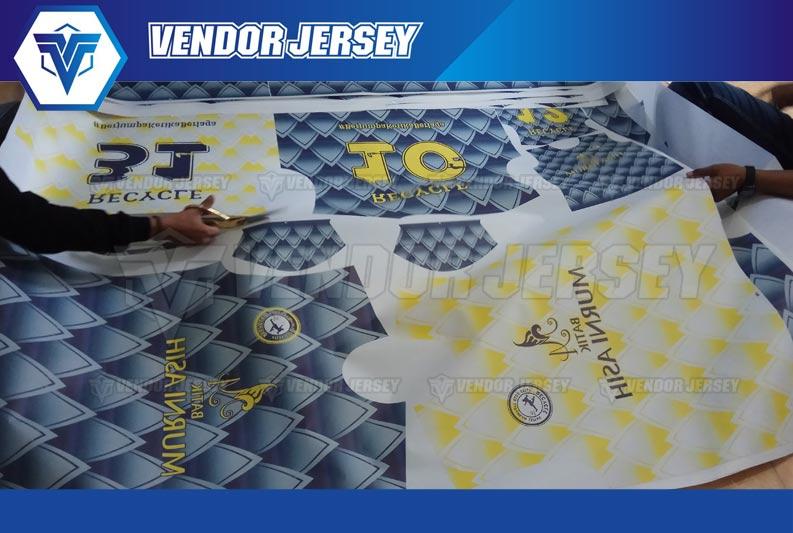 pembuatan Setelan Baju Bola Full Printing