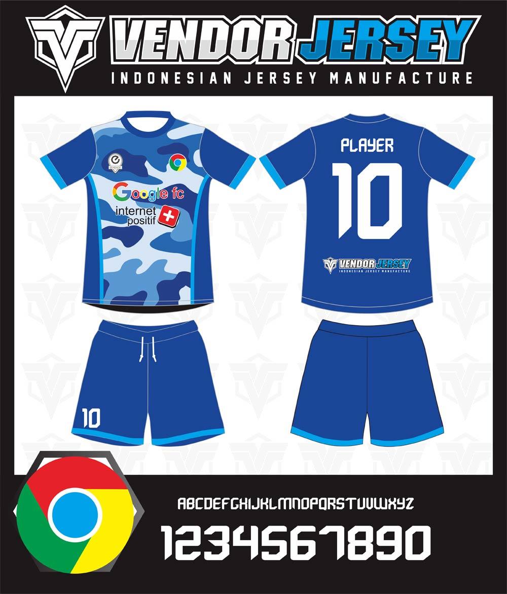 Buat Desain Baju Futsal Sendiri