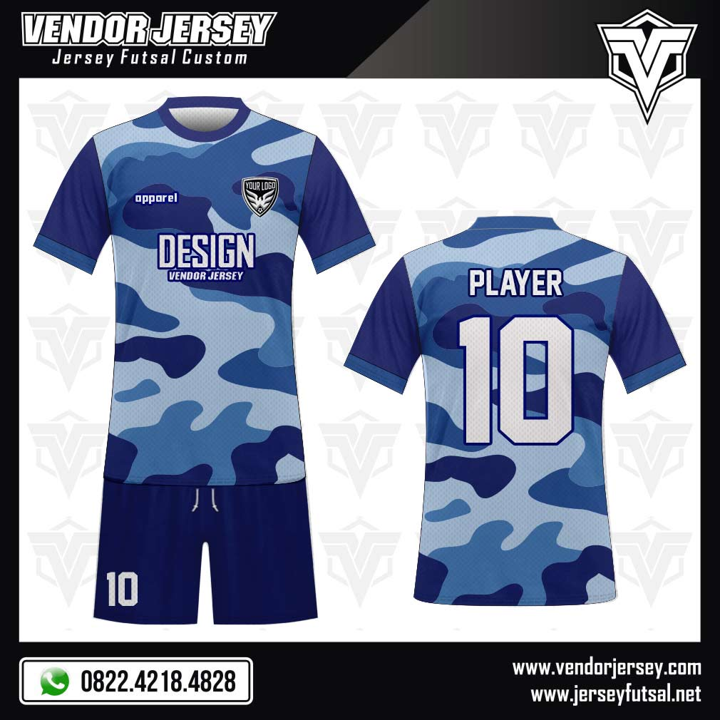 Jasa Desain Logo Instagram: Katalog Desain Baju Futsal / Sepakbola 7