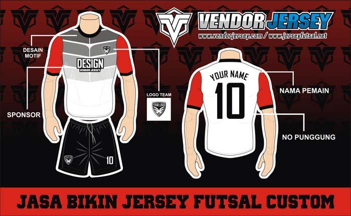 Desain Kostum Futsal Terbaru
