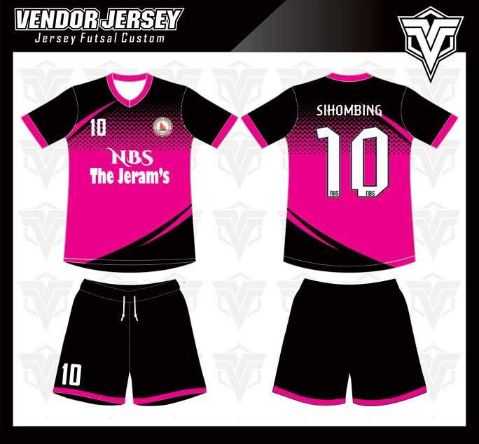 Memesan desain Baju Futsal Secara Online