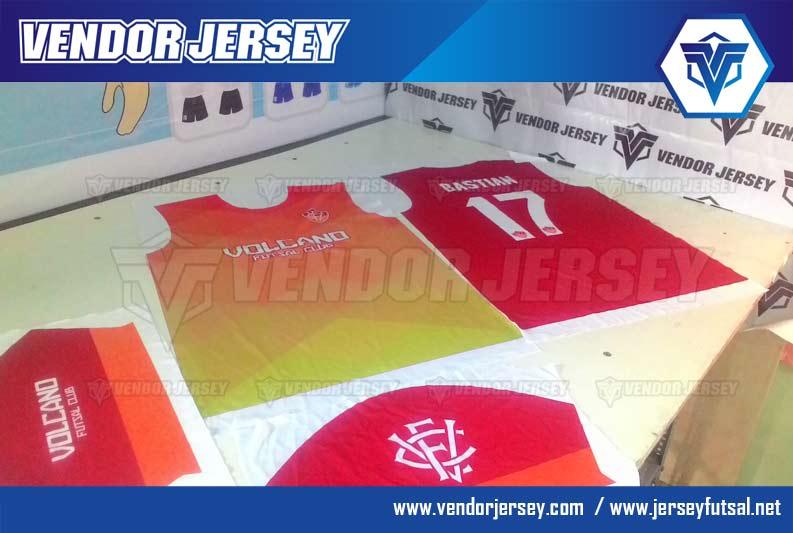 Pembuatan Jersey Futsal Desain Sendiri PRINTING