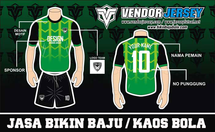 Pesan Desain Kaos Futsal Sendiri Kualitas Terbaik Harga Oke