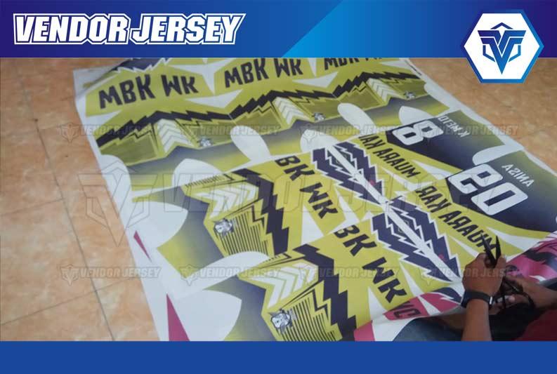 Pesan Desain Kaos Futsal Sendiri PRINTING