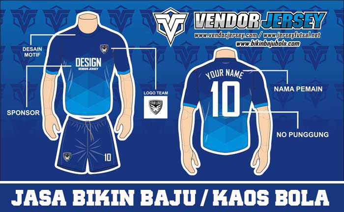 desain jersey futsal online