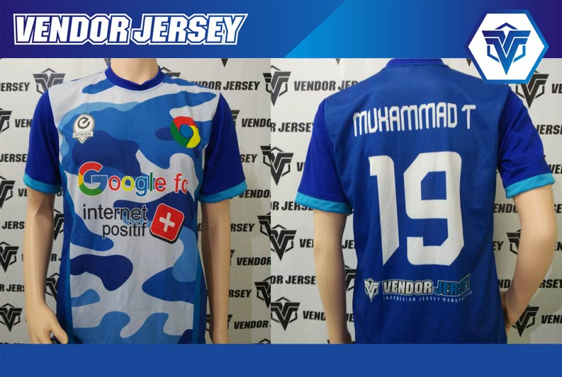jasa Buat Desain Baju Futsal Sendiri