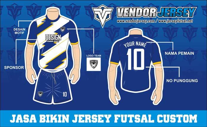 Desain Baju Futsal Terkeren.