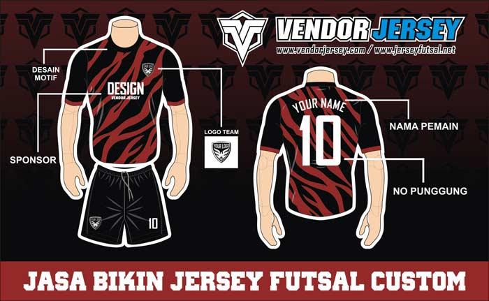 Keuntungan Menggunakan Desain Kaos Team Futsal Custom