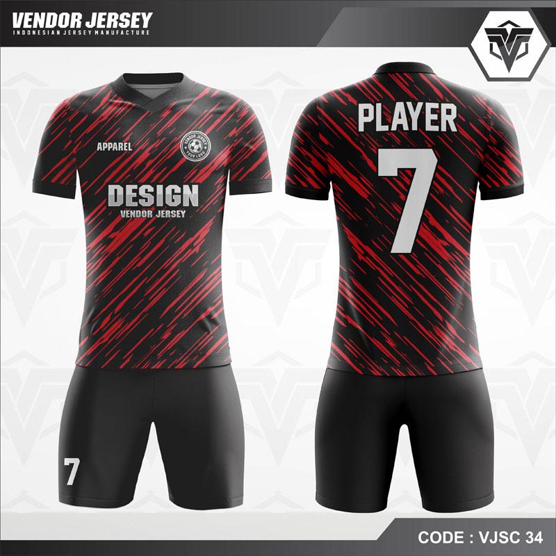 Desain Jersey Futsal Full Print Motif Loreng Army Tampil Beda