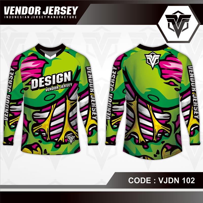 Desain Baju Sepeda Warna Hijau Untuk Tampil Beda
